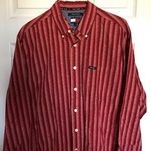 Tommy Hilfiger Jeans Mens Long Sleeve Shirt Size L